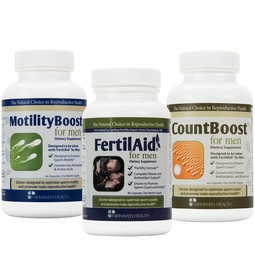 Male Fertility Supplement Starter Pack