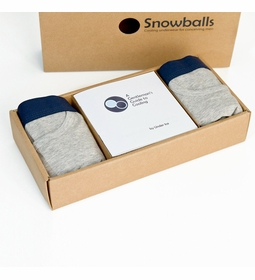 Snowballs Fertility Underwear for Men