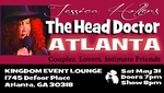 ATLANTA, GA - SATURDAY, MAY 31ST, 2014 - 7:30pm -  Jessica Holter Stars in The Head Doctor Show, The Punany Poets hottest show especially for lovers & friends with benefits