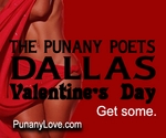 DALLAS, TX - SATURDAY, FEB 13, 10pm - Valentine's Weekend with the Punany Poets and Tiara Harris - SOLD OUT - Please come to the Sunday Valentine's Show at 6:00pm - Scroll down to order Valentine's Evening Tickets.