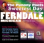 FERNDALE - Sunday, October 18, 2pm - The Exotic Rhyme at Tea Time, A GLBT event in Ferndale for Sweetest Day