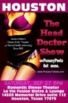 HOUSTON, TX - SATURDAY, SEPTEMBER, 27TH - 6:00PM - Jessica Holter stars in The Head Doctor Dinner Theater Show, Especially for Couples!