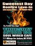 JACKSON, MS - Thursday, October 15th, 9pm - Sweetest Day BonFire Love-In
