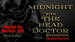 NEW YORK, NY - THURSDAY, MAY 19TH, 10:00PM - The Punany Poets' Midnight with The Head Doctor starring Punany founder, Jessica Holter