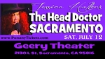 SACRAMENTO, CA - SATURDAY, JULY 12th, 2014, 7:00PM- Jessica Holter Stars in The Head Doctor Show, The Punany Poets hottest show especially for lovers & friends with benefits