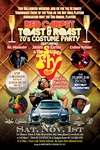 SAN FRANCISCO 11/1/14 8:00pm 2nd Annual Player's Toast & Roast & Costume Ball (Your must be at least 25 to attend this event.)