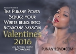 WASHINGTON, DC - THURSDAY, FEB 11th 2016 - Early Show 7:30pm - The Punany Poets Valentine's Show with Chrystale Wilson - This Box Office is CLOSED. Try EventBrite.com or call 510-600-9747 to RSVP to pay the the door.