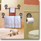 BATHROOM DECOR - Towel Bars & Rings, Toilet Paper Holders, Hair Dryer Caddies