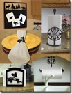 KITCHEN, NAPKIN HOLDERS, RINGS, PAPER TOWEL HOLDERS