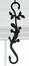 Wrought Iron Plant Hanger-Decorative S-Hook - Salamander