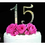 Sweet 15 Birthday Cake Topper