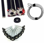 Torsion Spring Super Pac On Sale Includes 2 Residential Torsion Springs 1 Pr Winding Pro Winding Tools 1 Pair Cables 1 Replacement Bushing 10 Poly Quiet Rollers