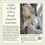 Imagine a World of Peace Through Compassion CD