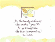 Notecard: It's the beauty within us