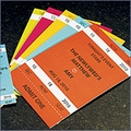 Personalized Large Sport Themed Drink Tickets - Pack of 80
