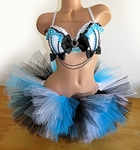 Alice in Wonderland inspired Rave Outfit