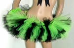 Black Neon Lime Green Rave TuTu