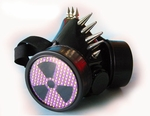Cyber Gas Mask Respirator Radiation Hazard design
