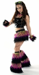 CyberGoth Girl Furry Monster Rave Outfit