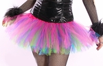 Multi Colored Rainbow Rave TuTu Skirt