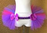 Pink Purple Bustle TuTu