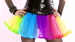 Rainbow Rave TuTu Tull Skirt