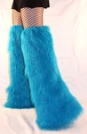 Thigh High Over the Knee *GLITTER* Fluffy Leg Warmers-Pick Your Color!