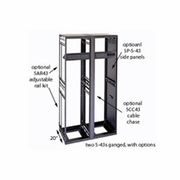 Slim 5 Steel Rack 37 Spaces 26in Deep