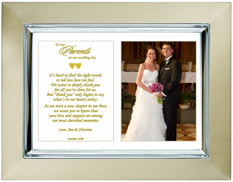 Wedding Day Gift For Parents : Home > Bridal & Wedding Gifts > Wedding Gifts for Parents from Son ...