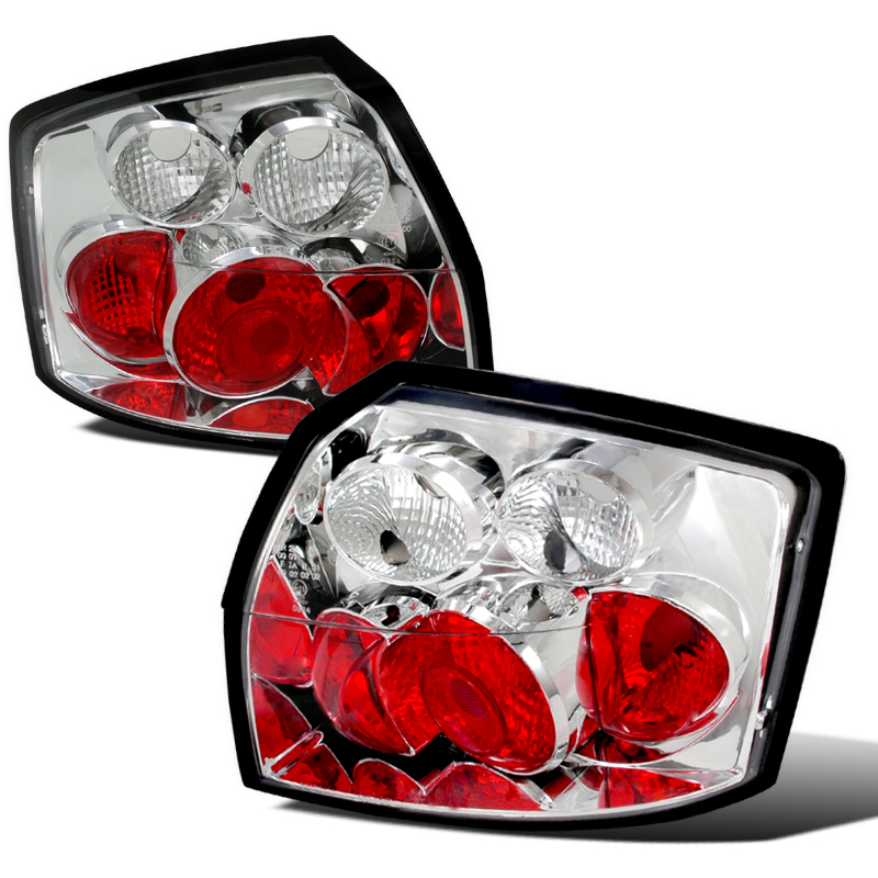 02 05 audi a4 altezza tail lights chrome. Black Bedroom Furniture Sets. Home Design Ideas