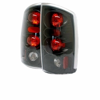Spyder 02-06 Dodge Ram 1500 2500 3500 Altezza Tail Lights - Black