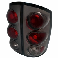 02-06 Dodge Ram 1500 2500 3500 Altezza Tail Lights - Smoked