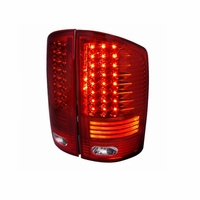02-06 Dodge Ram 1500 2500 3500 Performance LED Tail Lights - Red