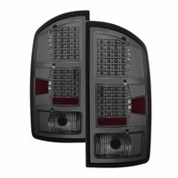 02-06 Dodge Ram Pickup Smoked G2 LED Tail Lights