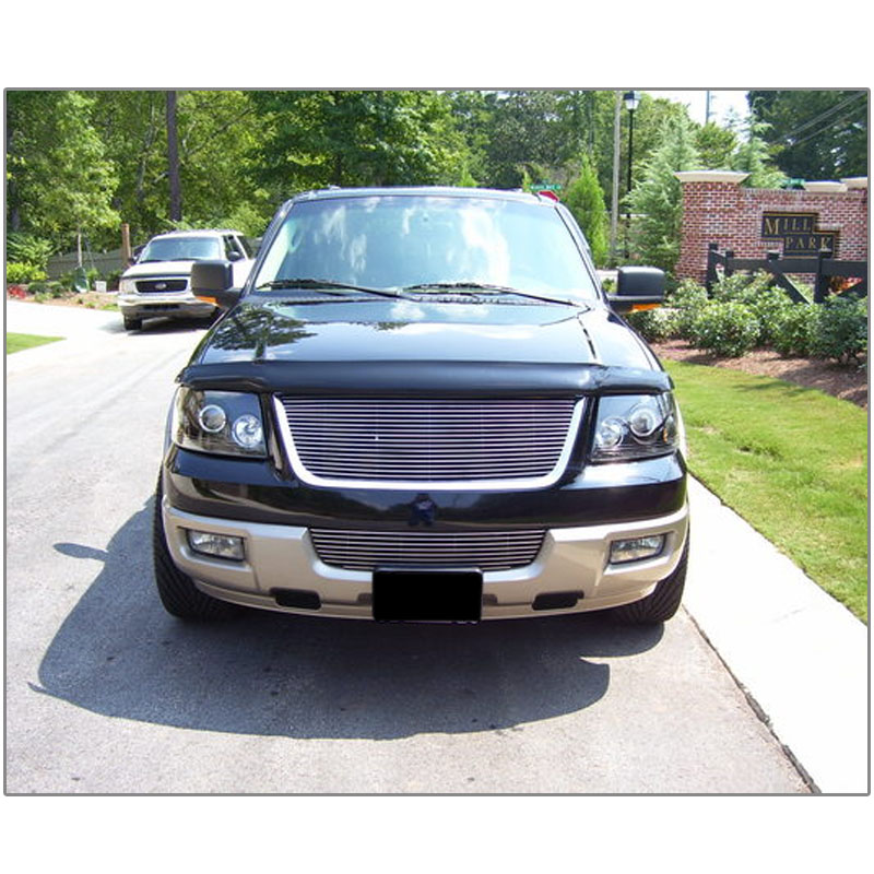 Ford Expediton: 03-06 Ford Expedition Dual Halo & LED DRL Projector