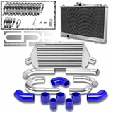 03-07 MITSUBISHI EVO VIII/IX BOLT-ON ALUMINUM RADIATOR + TURBO INTERCOOLER + PIPING
