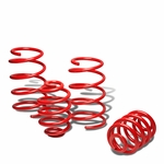 "03-07 Saturn Ion1.75"" Drop Suspension Lowering Springs - Red"