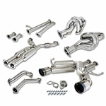 03-09 Nissan 350Z / 03-07 Infiniti G35 Coupe Cat Back Exhaust + Header + Downpipe