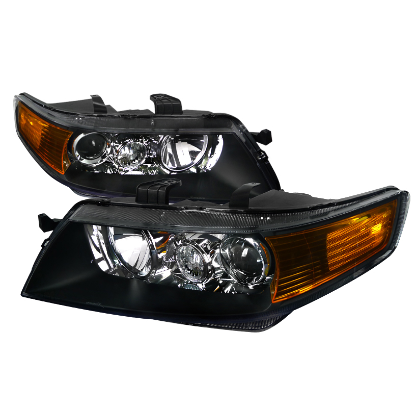 04-05 Acura TSX [Factory HID Model] Projector Headlights