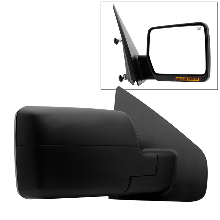 04-06 Ford F150 Power Heated Rear View Mirror w/LED Signal Right Passenger Side