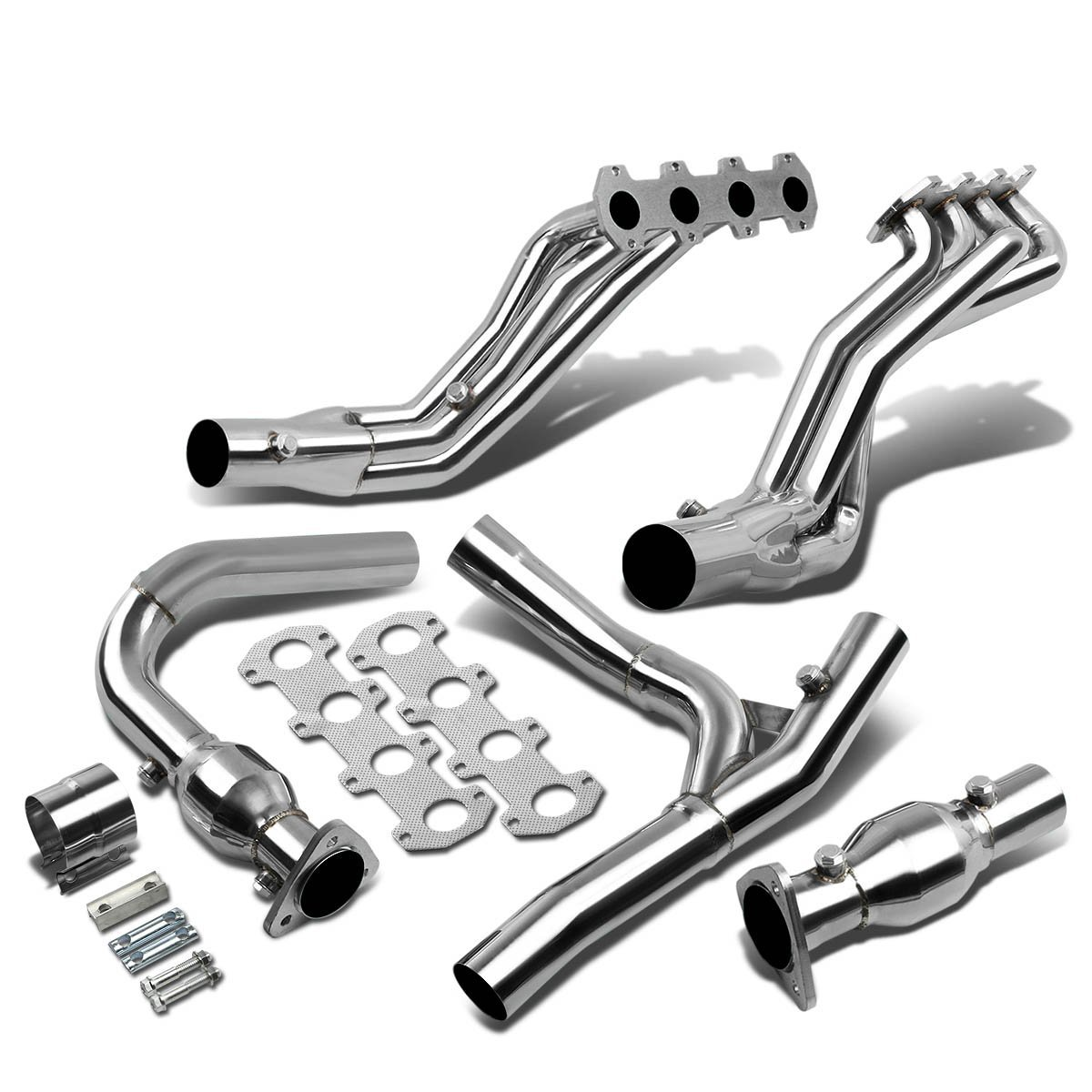 04-08 Ford F-150 / F150 Xlt / Fx4 5.4L V8 Stainless Racing ...