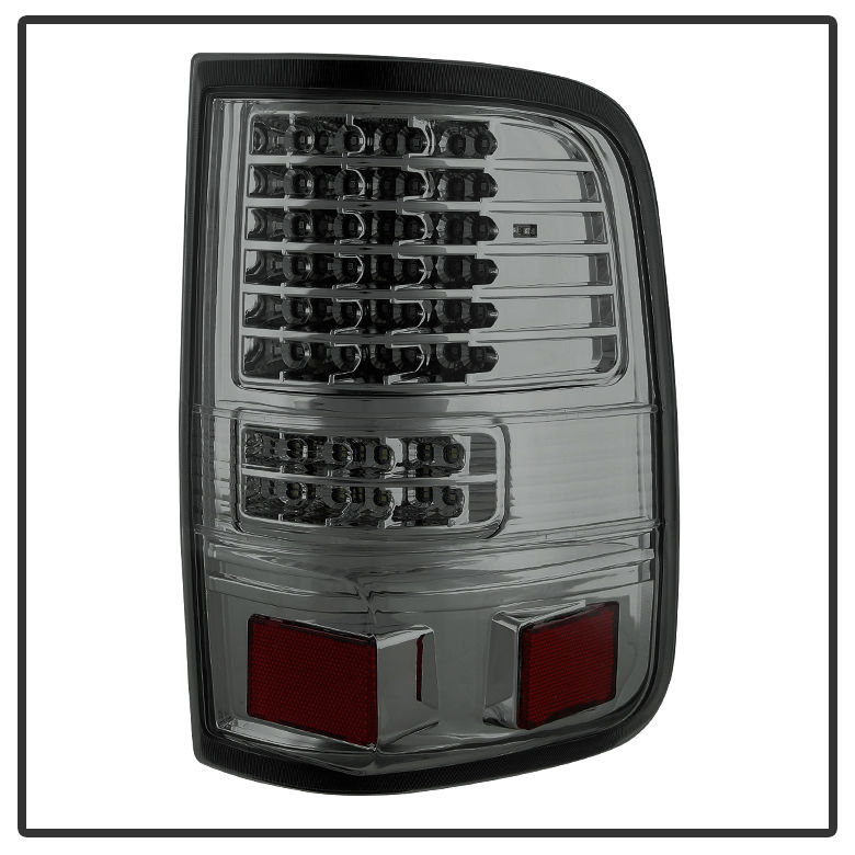 04 08 ford f150 pickup smoked g2 full led tail lights. Black Bedroom Furniture Sets. Home Design Ideas