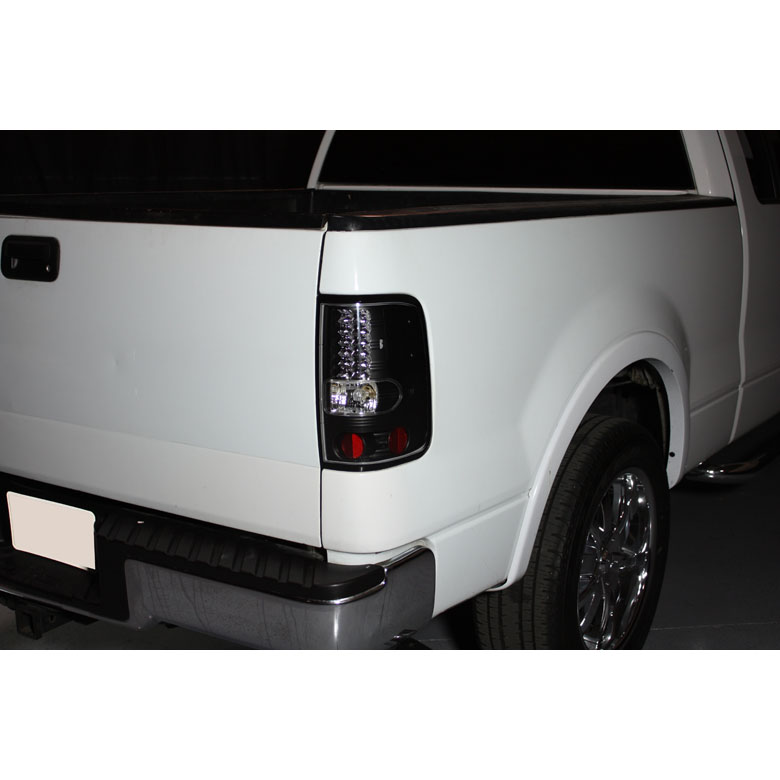 04 08 Ford F150 Styleside Performance Led Tail Lights