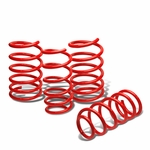 "04-11 Saab 9-3 2Dr/4Dr 1"" Drop Suspension Lowering Springs - Red"