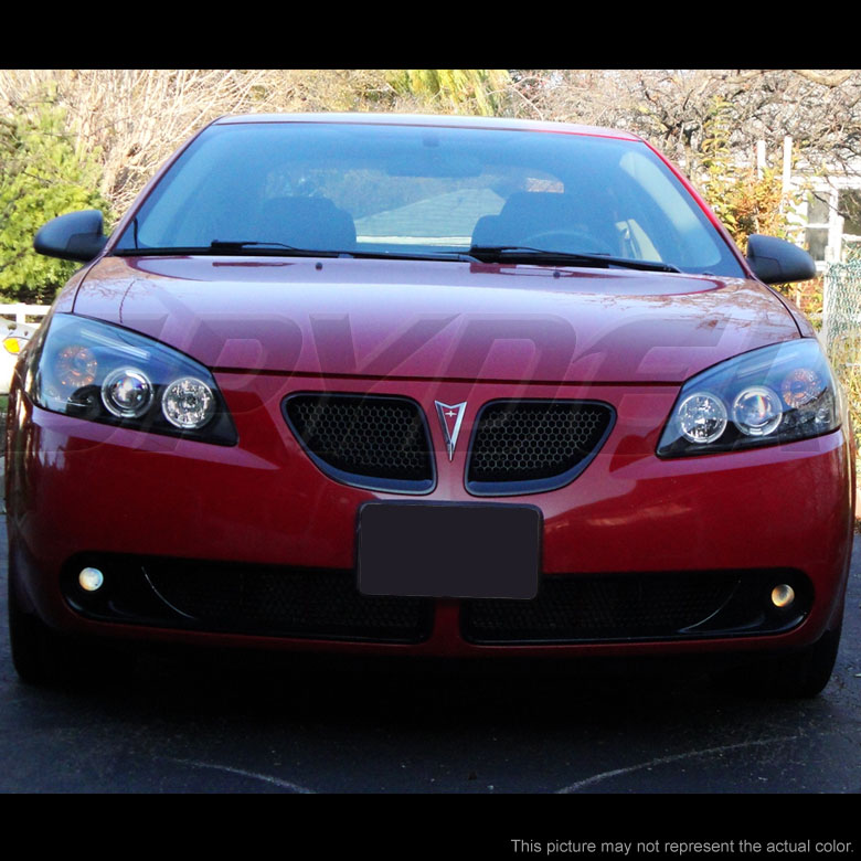2005 2010 Pontiac G6 Dual Angel Eye Halo Amp Led Projector