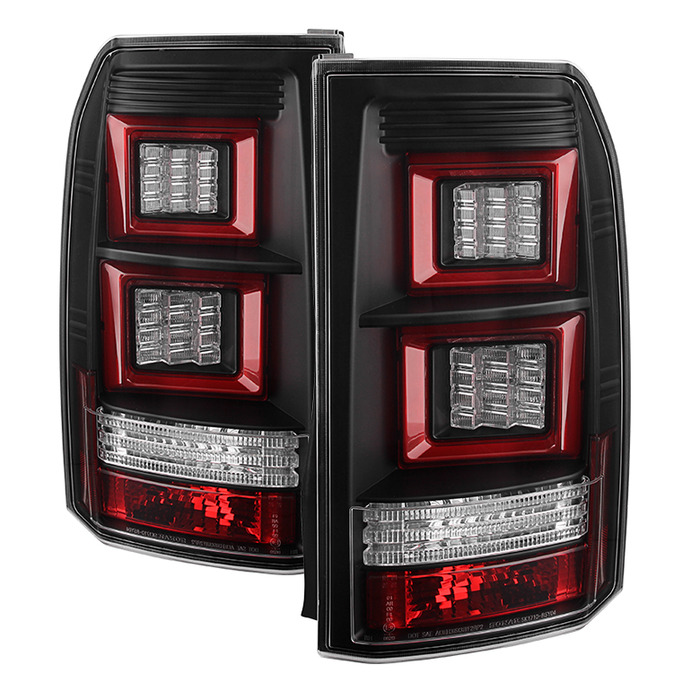 05 09 land rover discovery 3 lr3 performance led tail. Black Bedroom Furniture Sets. Home Design Ideas