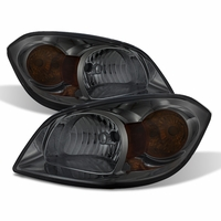 05-10 Chevy Cobalt / 07-09 Pontiac G5 Euro Style Crystal Headlights - Smoked
