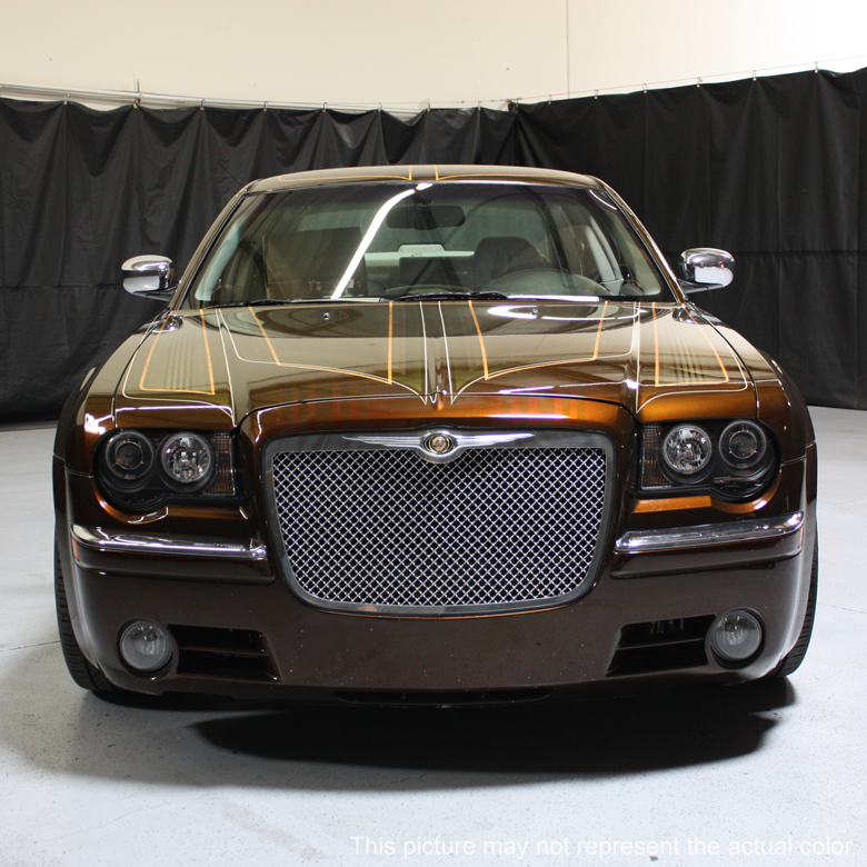 05 10 Chrysler 300c Dual Halo Amp Led Projector Headlights