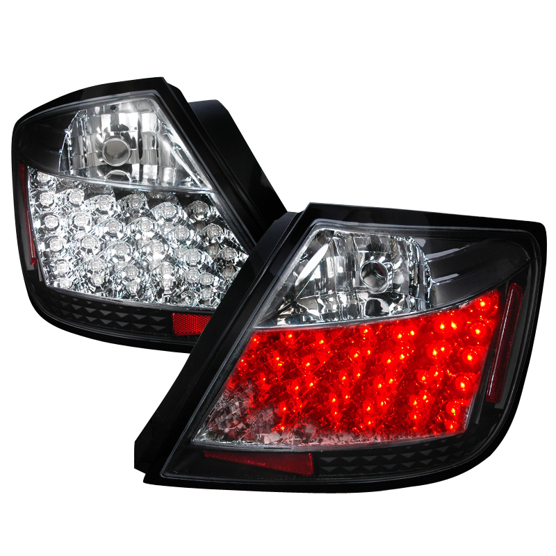 05 10 scion tc performance led tail lights black. Black Bedroom Furniture Sets. Home Design Ideas