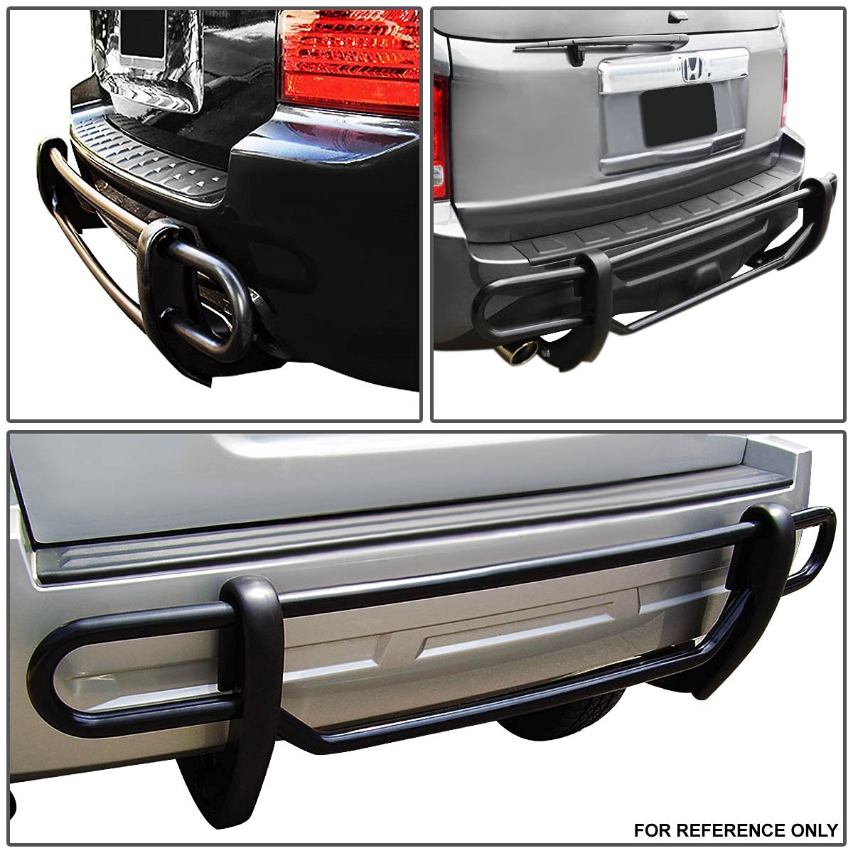 05 12 Nissan Pathfinder Stainless Steel Double Bar Rear